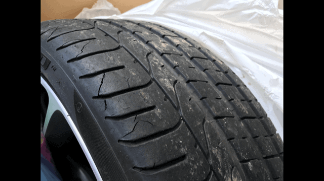 Tire Cracking Pirelli Summer Tire