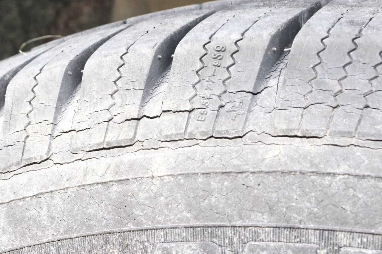 Michelin Tire Cracking