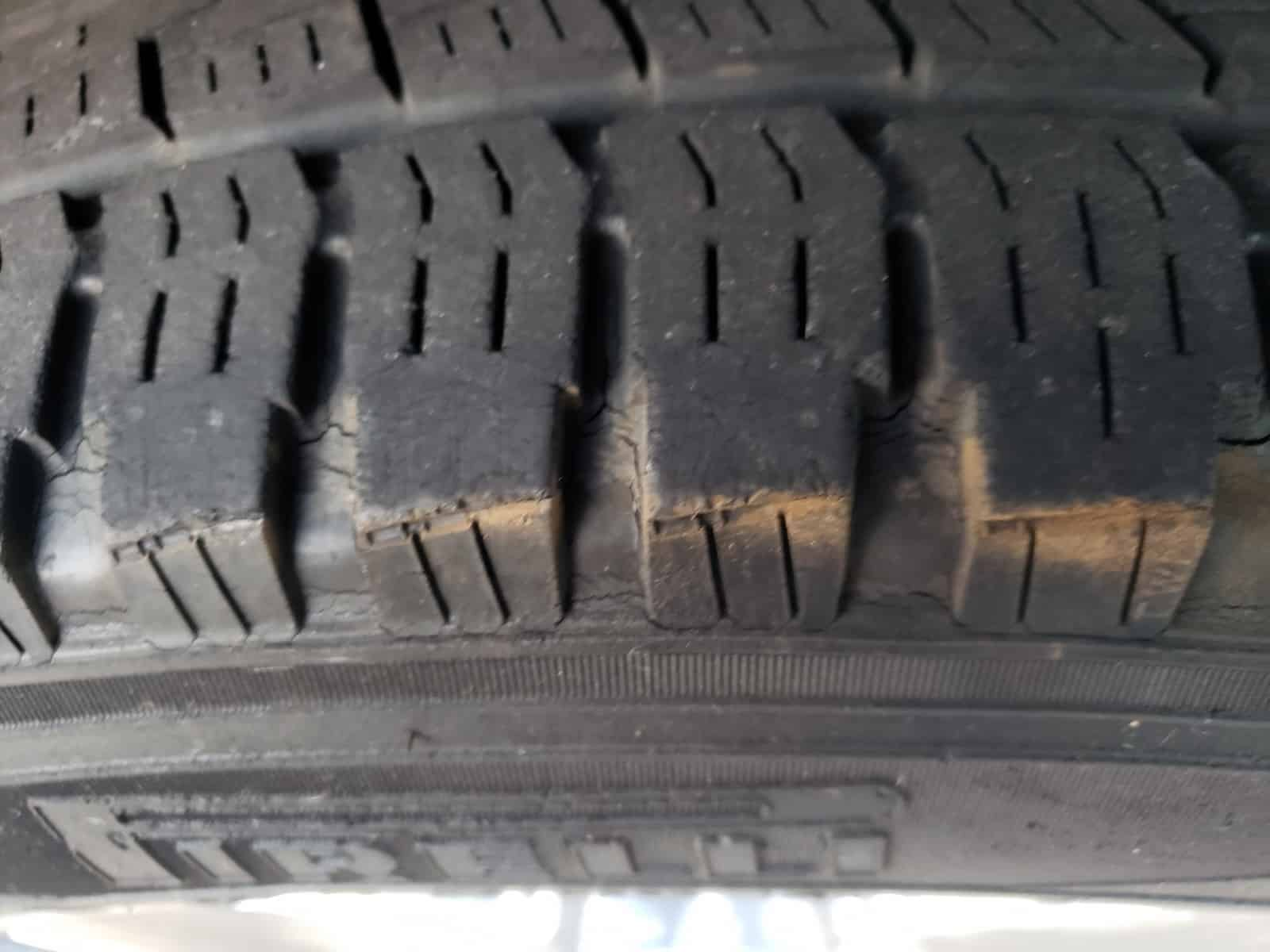 Pirelli Tire Cracking