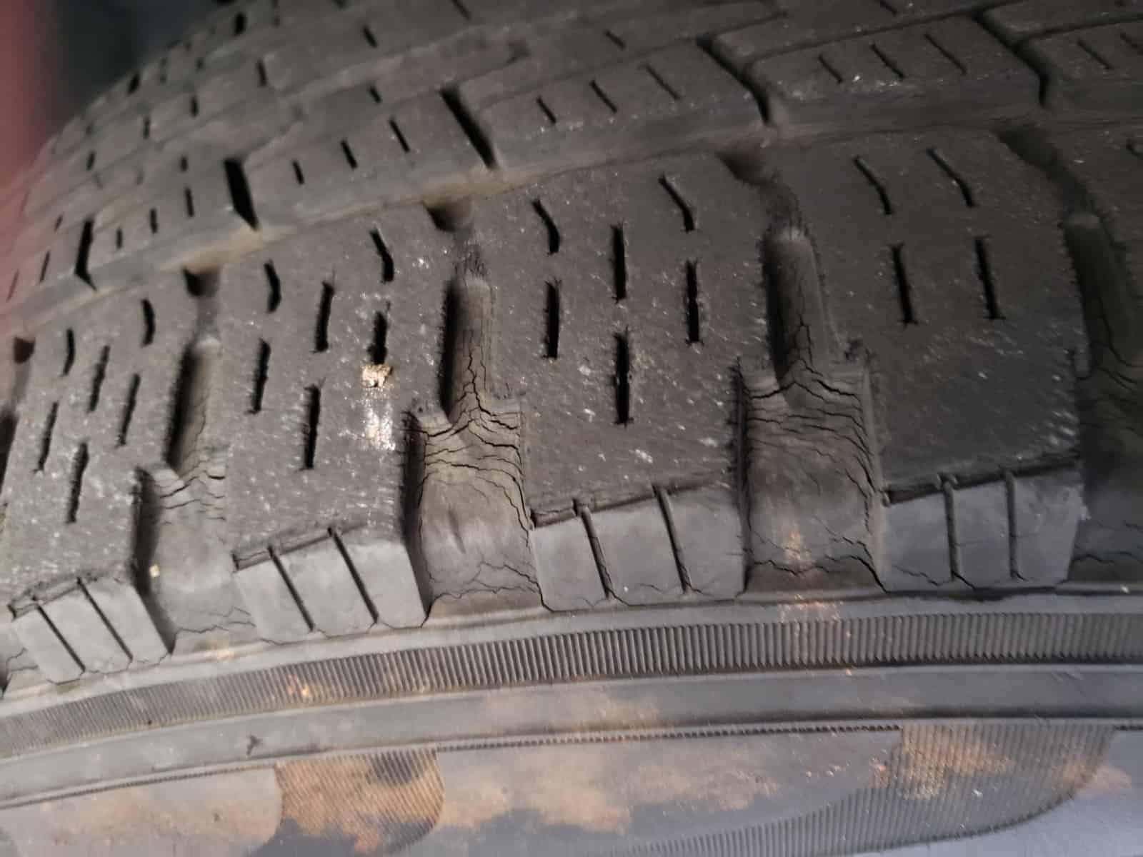 Age related Pirelli Tire Cracks