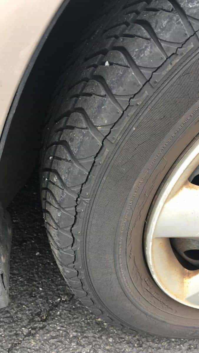 Yikes! Replace these Tires!