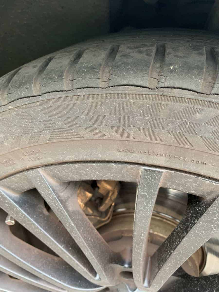 Really bad Cracking on Nokian Tires