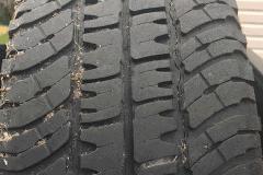Tread Cracks - Michelin LTX A/T 2 - Replace ASAP!