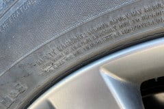 Gary's OE Dunlop Tire Cracking - Replace Tire!