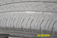 Worn-Out Tire  - Replace ASAP!
