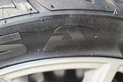 Severe Kumho Sidewall Cracking - Replace ASAP!