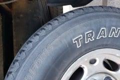 Normal wear & tear - Transforce Shoulder Tire Cracks