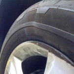 Tire Damage from Poholes