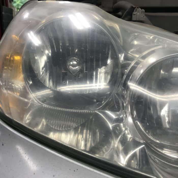 3M headlamp lens restoration service
