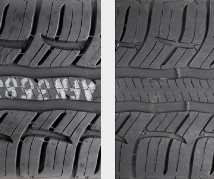BFGoodrich Advantage T/A Sport tire sipes