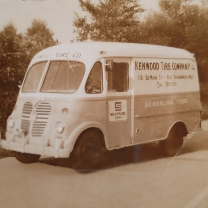 Check Out Our First Delivery Van