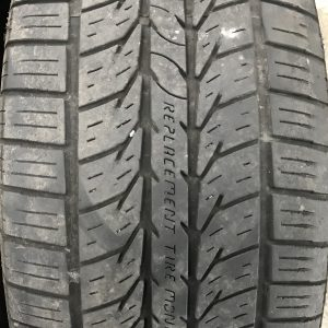 General Altimax RT43 Used Tire Siping
