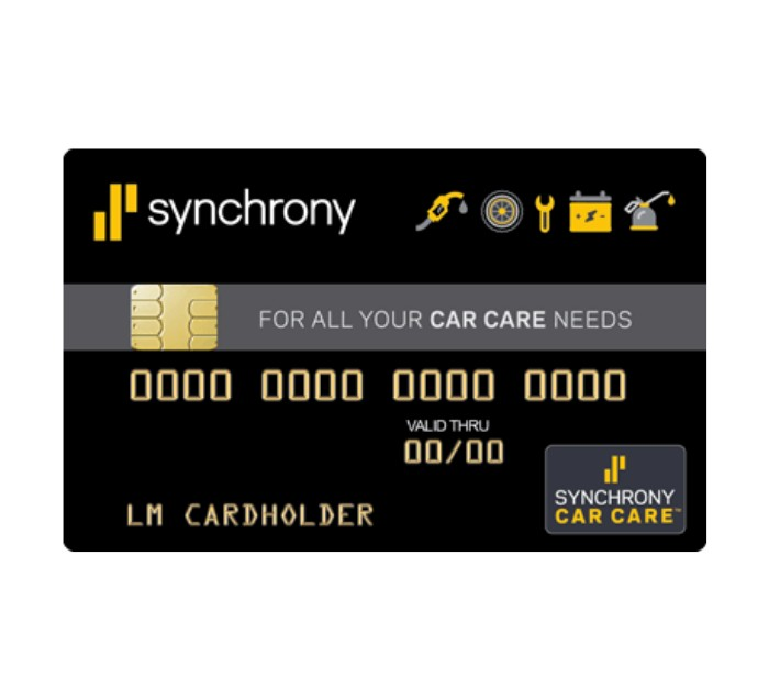 Synchrony 6 months interest free financing on tires