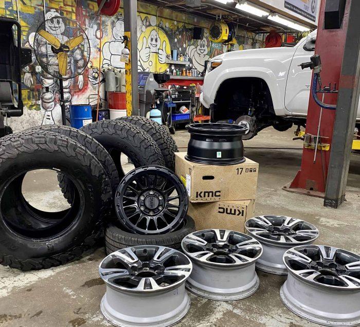 tire rack internet tire installation