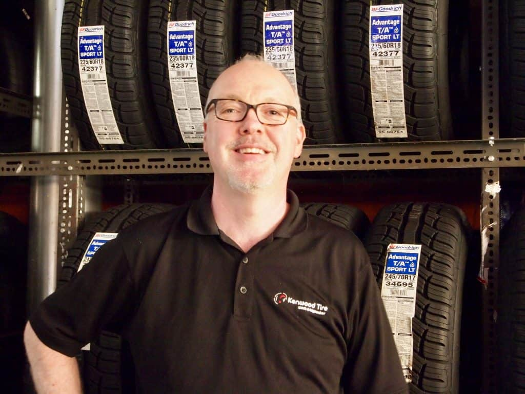 Spencer Carruthers Owner of Kenwood Tire